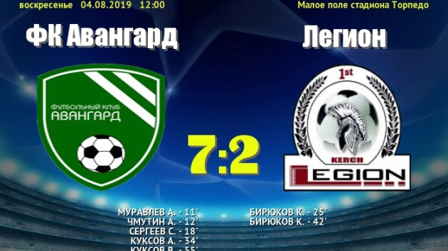 Авангард выиграл Кубок ЛЛЛФ Весна 2019